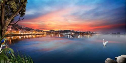 美国的旧金山湾是财富的象征,英国的伦敦湾是诗意的象征,香港